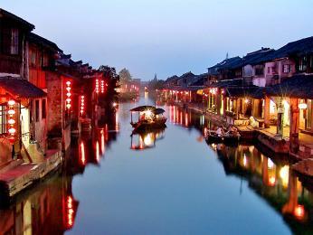 【蘇杭西烏】蘇州定園、杭州西湖、西溪濕地二期+雙水鄉西塘、烏鎮大巴4日游